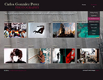 Carlos G. Perez Photographer portfolio website