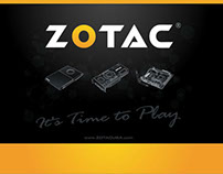 ZOTAC Booth Backdrop
