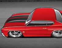 '70 Chevelle 'toon