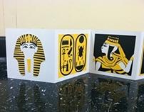 Cut Paper Book - King Tut Theme