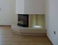 My latest design of a Fireplace.