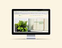 Live Green Gardens Website