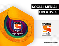 Social Media Graphics - Sony Marathi