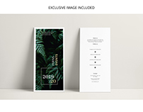 FERNS Trifold Event Flyer Template