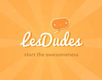 LesDudes - App Design