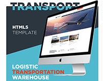 Transport - Logistic, Transportation & Warehouse HTML5