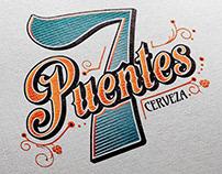 7 Puentes - Branding Identity - Craft Beer