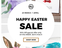 Happy Easter Sale 50% off Entire Store