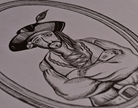 Pirates of Brazil - Drawing