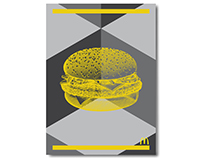 McDonald's Menus & Posters Illustrated by Steven Noble