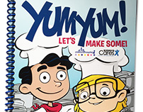 Yum Yum! Let's Make Some! Cookbook