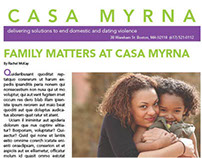 Casa Myrna Newsletter