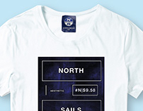 Placement Graphics T Shirt Print-Nautical- North Sails