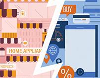 retail VS online