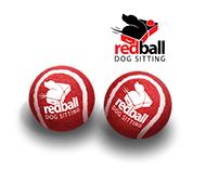 RedBall Dog Sitting Logo