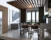 #111 - Studio and Hallway