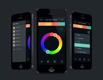 Color Scheme Designer App Concept