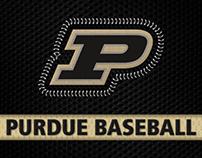 Purdue Baseball Templates