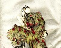 pequenos trechos de tigre