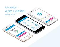 Ui e Ux - App Caaf Fabi