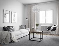 Scandinavia Style Livingroom