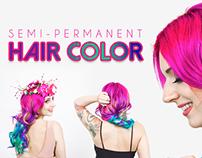 Dinair's Semi Permanent Hair Color
