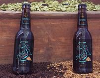 Mystic Whaler, Beer Label Design