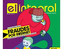 """Fraudes por Internet"" - El Integral #84 Cover"