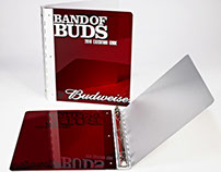 Budweiser Metal Binder