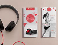 Marketing Flip Fitness trackers