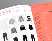 Clothes Tracker Infographic Booklet