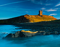 Northumberland Coast, England.