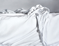 Bed 1, 2012, 80 × 40 cm, oil on canvas
