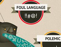 Internet Troll infographic