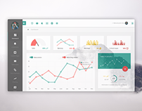 Admin.io - AngularJS dashboard