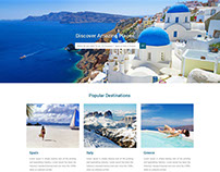 Boutique Travel Website