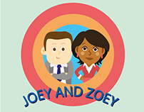 COMIC JOEY AND ZOEY