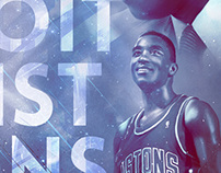 Vintage NBA posters - Collection 2 -