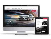 SEAT.COM Creative Web Design and Art Direction