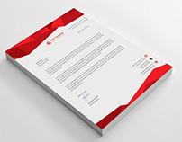 Corporate Creative Letterhead template