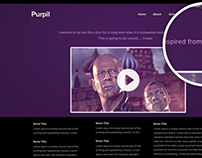 Purpil - Theme - Freebie