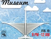 Jake Williams MKE Museum minimalist poster