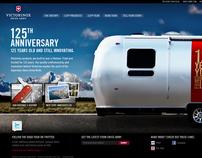 Victorinox Swiss Army - 125 Anniversary Promo Site
