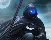 Moon Knight 3d