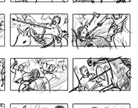 Vikings TV series storyboards
