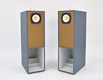 Floor standing horn speakers