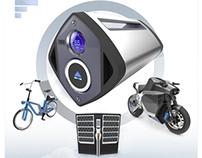 Nirvash - Electric motorbike & battery