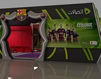 Etisalat Barcelona Booth