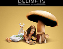 FLAVORS ADS Lay's Delights Press ads | 2007