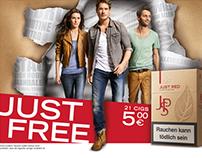 JPS JUST FREE Kampagne